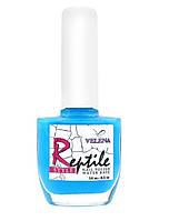 Лак для ногтей Reptile style Синий  #06  VELENA, 14 мл