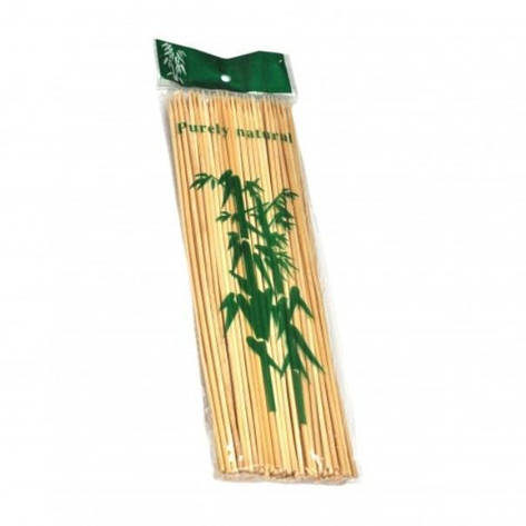 Шампуры бамбуковые (Шпажки) SMA 30см 5пак/уп, фото 2