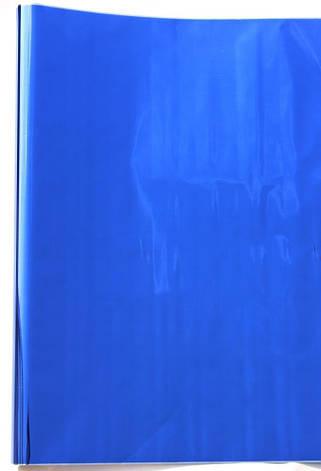 Фольга (металлизированный целлофан) - Синяя, 0,3кг, фото 2