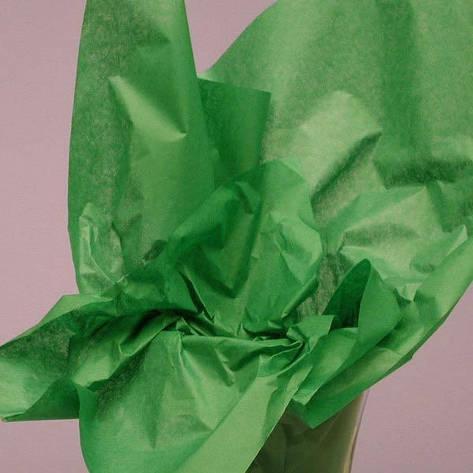 Бумага Тишью Италия №38 - Зеленая, фото 2