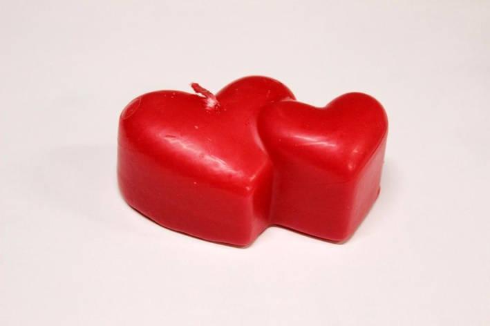 Декоративные свечи в день Святого Валентина 5шт/уп - Сердце двоих, фото 2