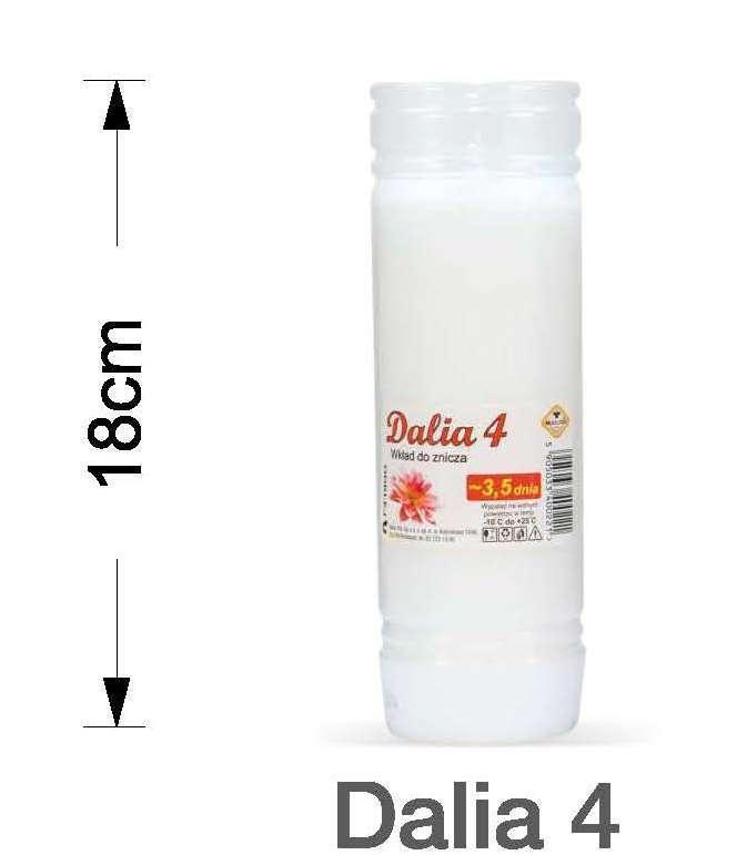 Вкладыш для лампад MAX-POL DALIA-4 20шт/уп