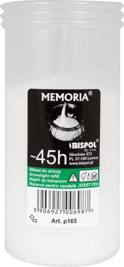 Вкладыш для лампад Memoria Bispol 20шт/уп №P165