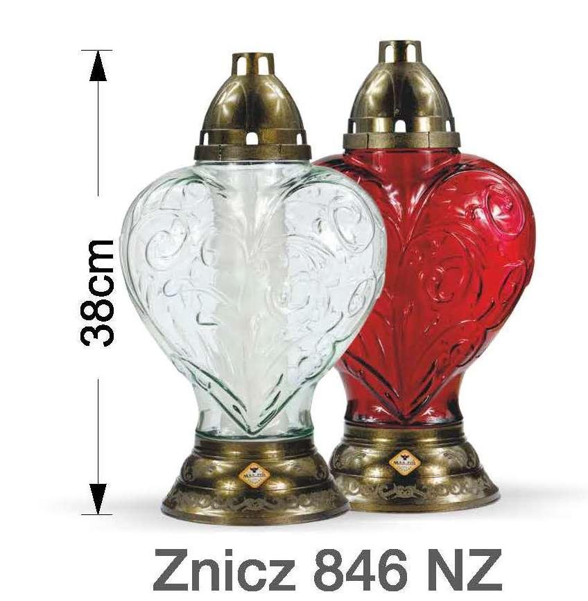 Лампада стеклянная MAX-POL 2шт/уп №ZNICZ-846 NZ S/2