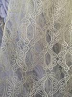 Тюль айвори корд Турция, фото 1