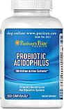 Поддержка здорового кишечника PROBIOTIC ACIDOPHILUS 250 капсул, фото 2