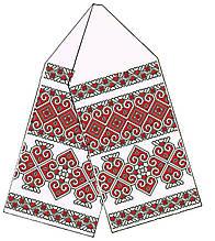 Заготовка полотенца для икон №037