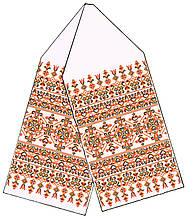 Заготовка полотенца для икон №038