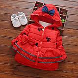 Демисезонная куртка для девочки размер 104., фото 2