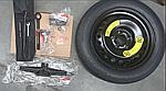 Набор запасного колеса киа Спортейдж 4, KIA Sportage 2019- Qle, f1f40ak900cswsk