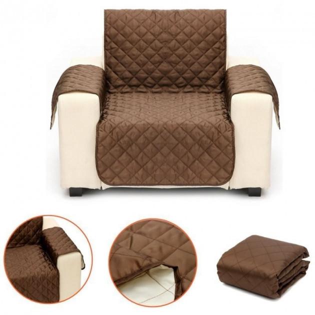 Двустороннее покрывало накидка для кресла Couch Coat