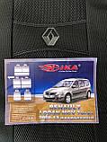 Чехлы на сиденья Renault Logan MCV 2009-2013 7 мест Nika, фото 2