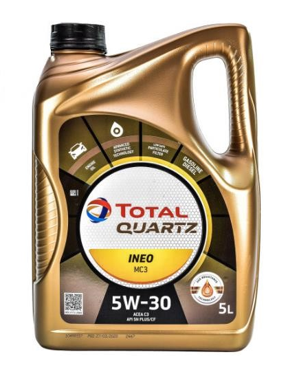 Масло моторное TOTAL QUARTZ INEO MC3 SAE 5W-30 (5л.)
