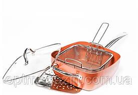 Сковородка с фритюрницей COPPER PAN