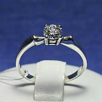 Кольцо из серебра для помолвки 1044, фото 1
