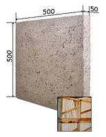 Перлито-цементная плита 500*500*100мм