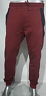 """Спортивные штаны мужские ROW с манжетами на флисе, размеры S-2XL (3цв) """"BREND"""" недорого от прямого поставщика, фото 1"""