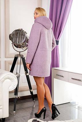 Женское демисезонное пальто В-1049 W09+BND р.60, фото 2