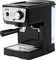 Кофеварка компрессионная с капучинатором  ECG ESP 20101