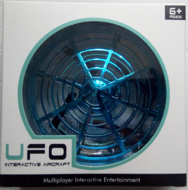 Игрушечный дрон для детей Rotating Indoor Drone for Kids UFO