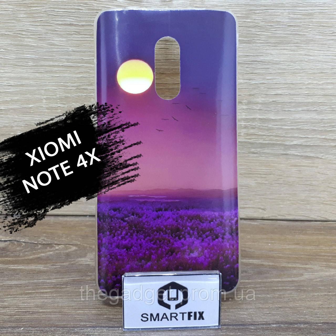 Чехол с рисунком для Xiaomi Redmi Note 4X