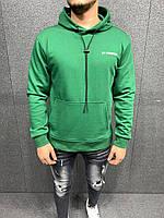 Мужской модный осенний свитшот (зеленый) 6027