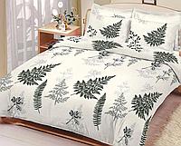 Полуторный комплект постельного белья 150х220 Ранфорс-хлопок 100% (15428), фото 1