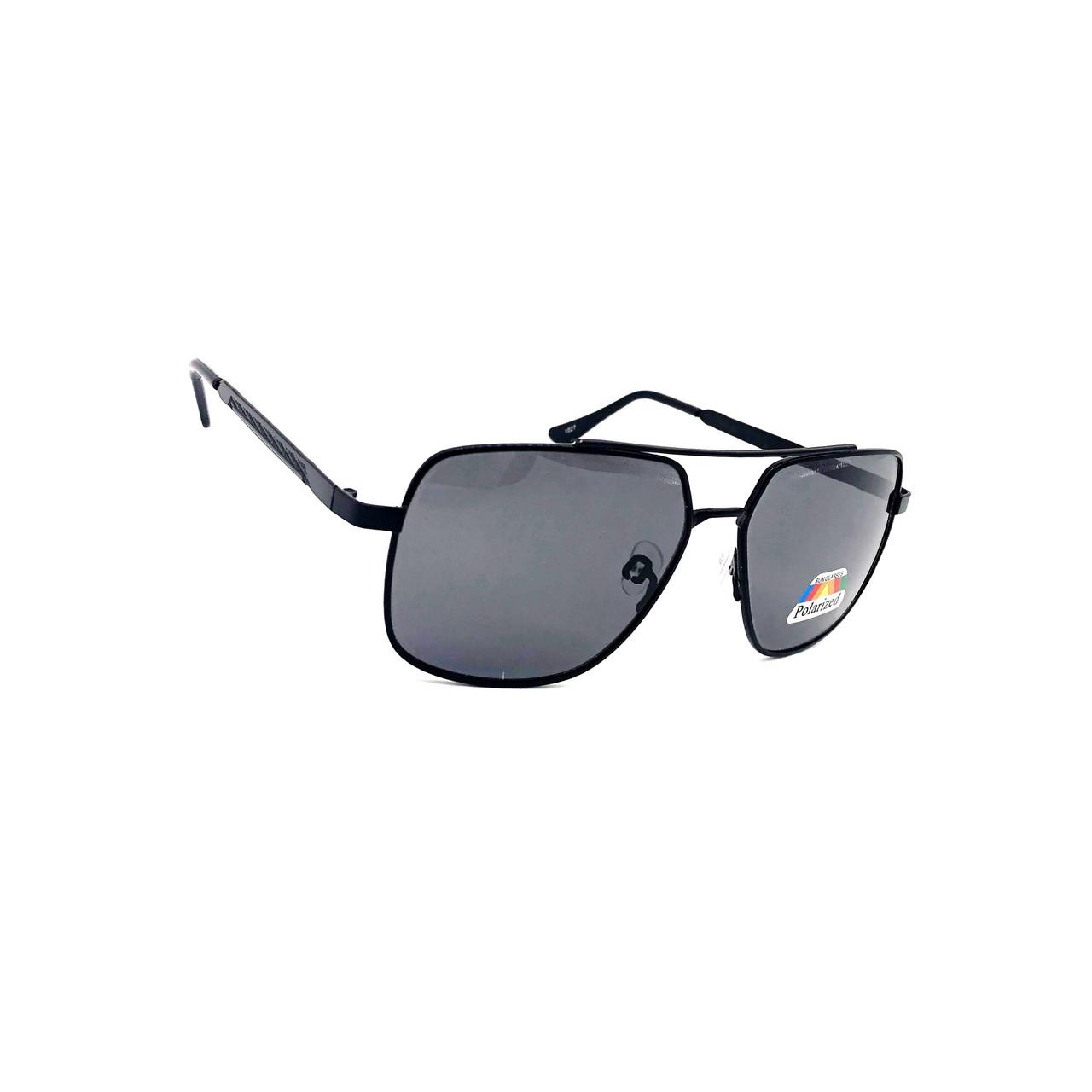 Мужские солнцезащитные очки полароид 1027 черный