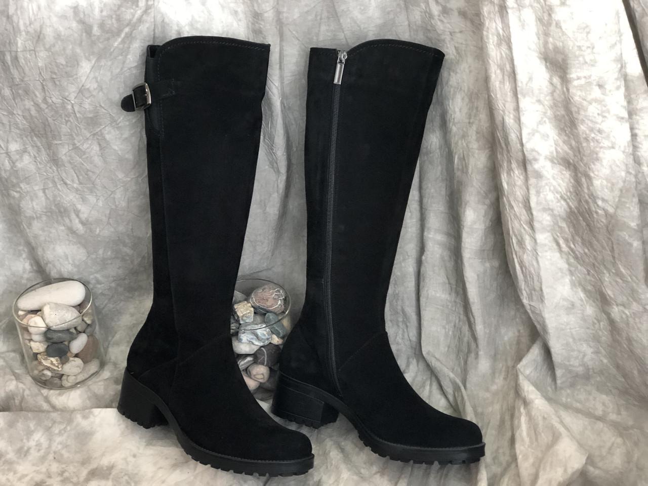 Демисезонные женские кожаные сапоги Alexander 861 размеры 38,39,40,41