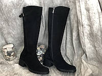 Демисезонные женские кожаные сапоги Alexander 861 размеры 38,39,40,41, фото 1