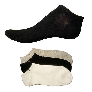 Носки короткие женские однотонные хлопок 37-42
