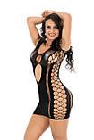 Пеньюар сітка сексуальное белье пеньюар-сетка эротическое белье, фото 4