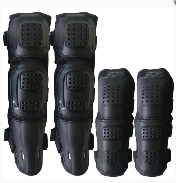 Комплект защиты колен и локтей для мотоциклистов Fox