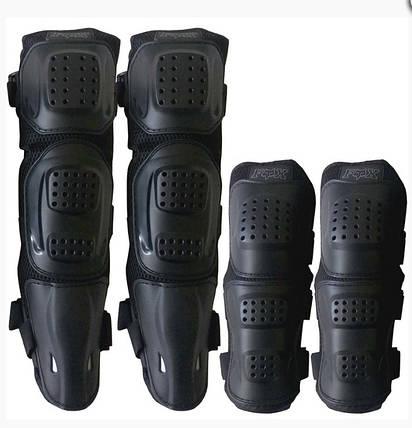 Комплект защиты колен и локтей для мотоциклистов Fox, фото 2