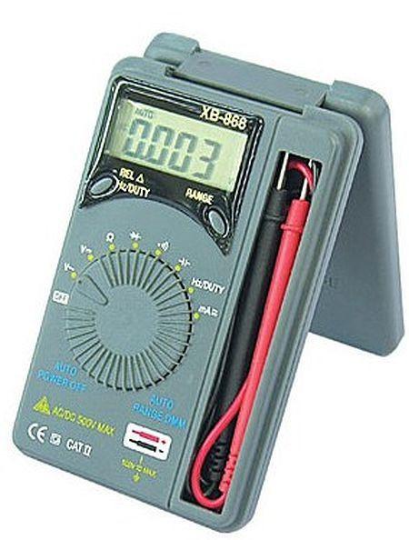 Купить Мультиметры, Мультиметр XB-868, автомат
