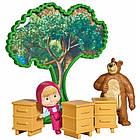 Детский игровой набор Маша и Медведь Дом Медведя с фигурками и аксессуарами Simba, фото 9
