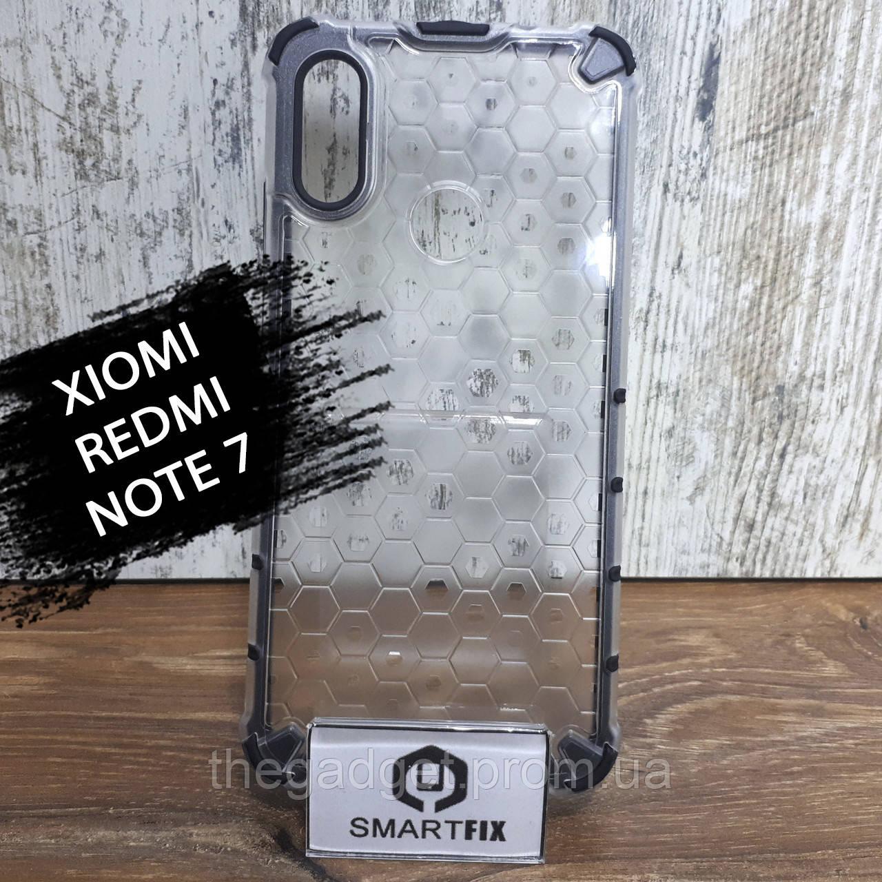 Пластиковый чехол для Xiaomi Redmi Note 7/Note 7 Pro Honey Comb
