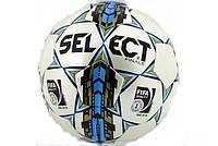 Мяч футбольный SELECT FINALE (FIFA INSPECTED) (белый-голубой-золотой)