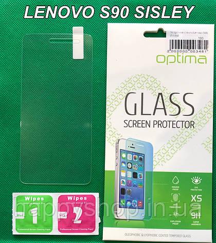 Защитное стекло для Lenovo S90 Sisley, фото 2