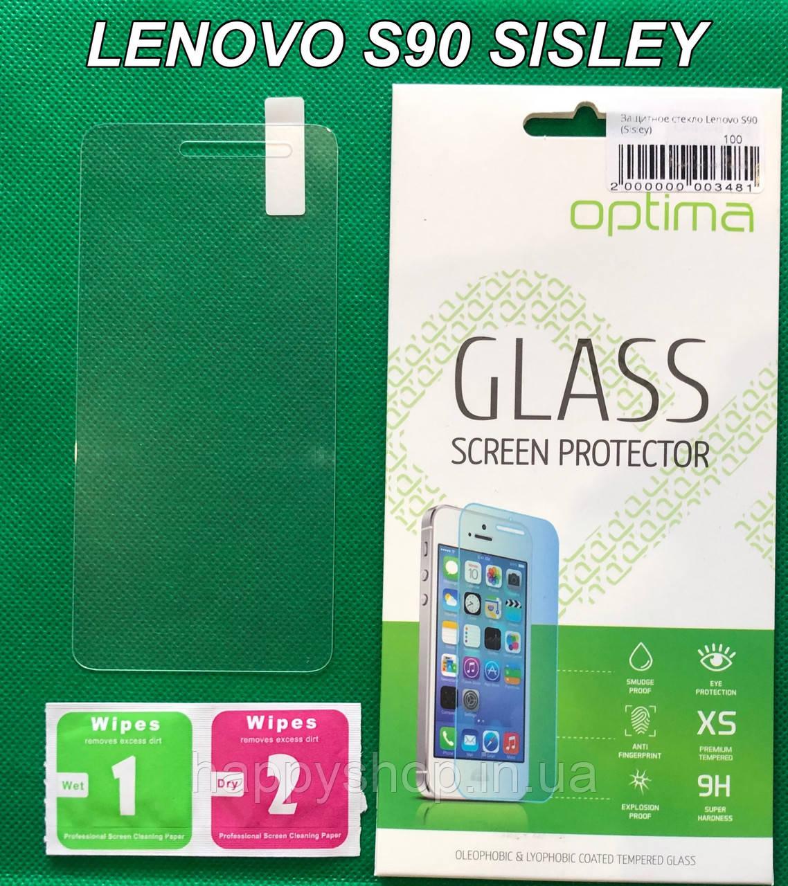 Защитное стекло для Lenovo S90 Sisley