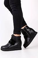 Ботинки-сникерсы женские черные ACG 9-118, фото 1
