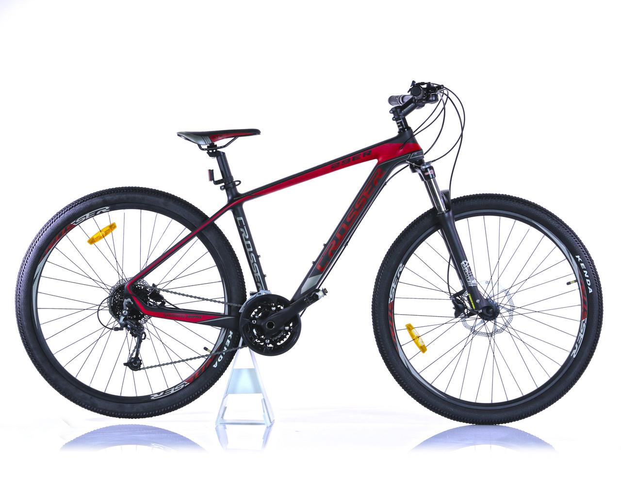 "Велосипед Crosser найнер Genesis 29"" Карбон ( рама 18)"