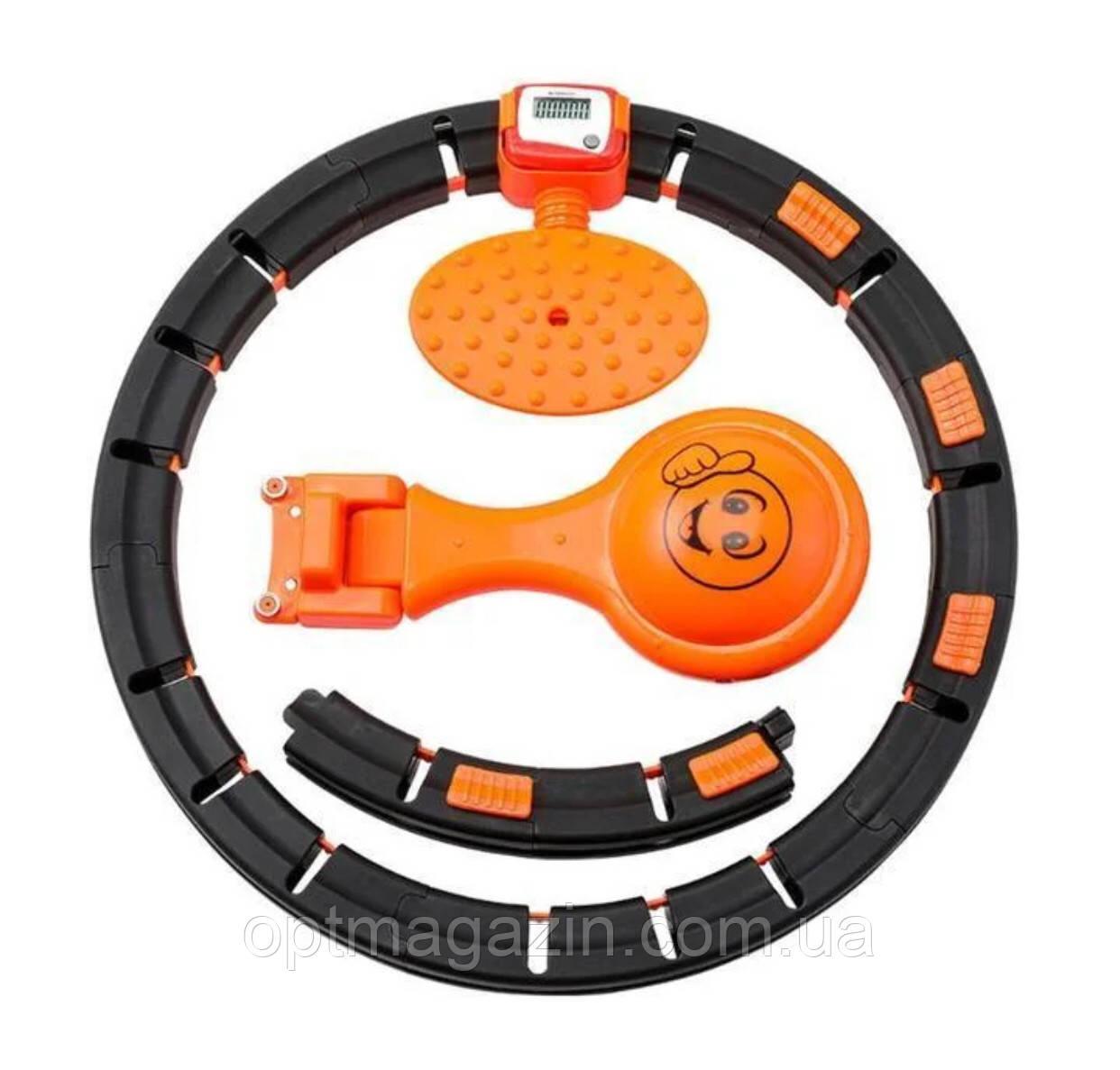 Обруч HULA Hoop LED (W76) / ХулаХуп / обруч для похудения