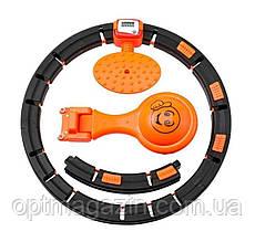 Обруч HULA Hoop LED (W76) / ХулаХуп / обруч для схуднення