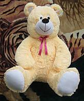 Великий м'який плюшевий ведмедик 4128 Flamingo, 75см, плюшевий ведмідь на подарунок