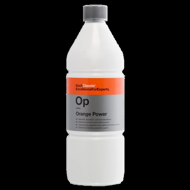 Очиститель и пятновыводитель от клея, масел, насекомых, битума Koch Chemie ORANGE POWER 1 л (192001)