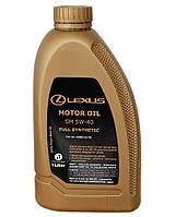 Масло моторное Lexus Motor Oil API SM 5W-40 ✔ 1л