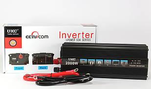 Преобразователь  AC/DC 2000W SSK UKC / автомобильный преобразователь напряжения / автомобильный инвертор