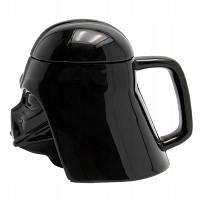 Чашка Бокал Кружка Пластиковая Star Wars 3D Plastic Дарт Вейдер (Черная), фото 1