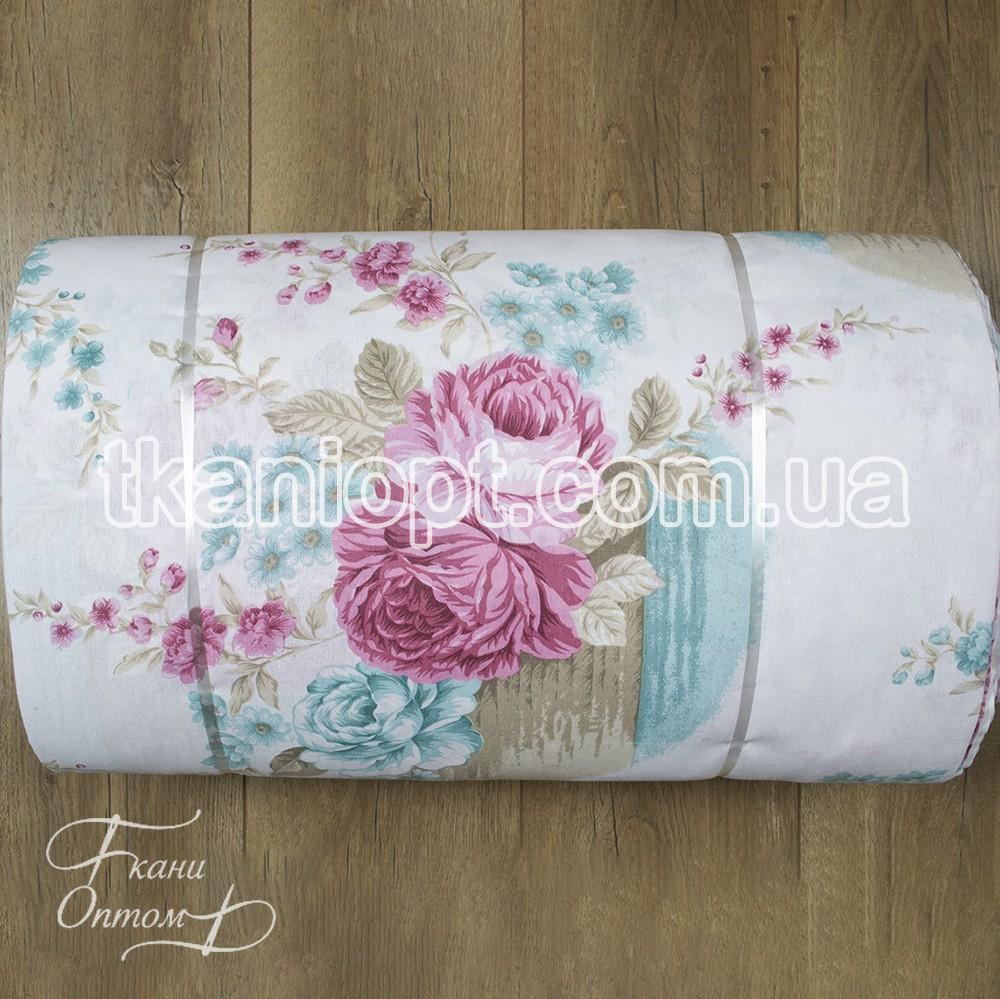 Ткань Ранфорс хлопок Турция - peony 106277